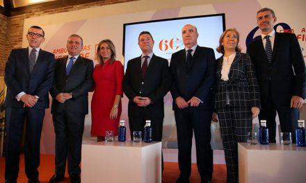 """La alcaldesa destaca el """"respeto y la confianza consolidada"""" de Ambulancias Finisterre en la conmemoración de sus 60 años"""