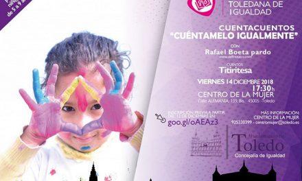 El Ayuntamiento organiza un cuentacuentos gratuito para niños y niñas de entre 5 y 9 años de edad este viernes 14