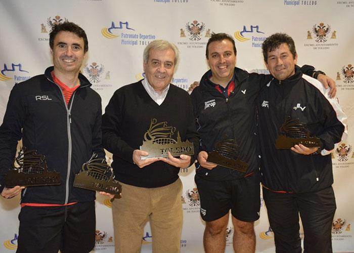 Los toledanos Javier Abián, David de la Cruz y Miguel Ángel Polo logran trofeo en el V Circuito Nacional Senior de Bádminton 'Ciudad de Toledo'