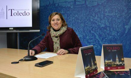 El Ayuntamiento edita más de 10.000 calendarios con espectaculares imágenes de Toledo para recibir el año nuevo