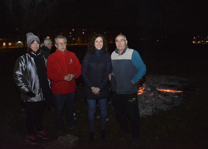 El Gobierno local celebra con los vecinos del Poblado Obrero la festividad de San Antón