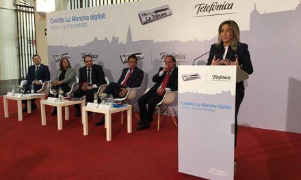 """Milagros Tolón: """"Toledo será referente de la innovación y la tecnología, y en ese futuro estamos caminando todos juntos"""""""