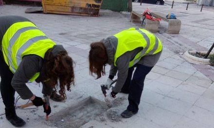 El Ayuntamiento acomete mejoras de accesibilidad y mantenimiento urbano en el Poblado Obrero y en el Paseo Poeta Gómez Manrique