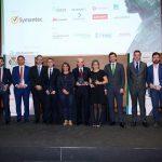 El Ayuntamiento recibe el premio a la infraestructura tecnológica pública por la implantación de la fibra óptica en el Casco Histórico