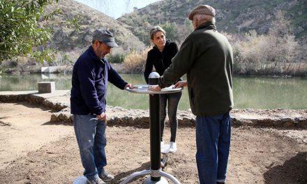 La alcaldesa destaca el potencial de la senda ecológica del Tajo como espacio para el deporte y el ocio saludable de los toledanos