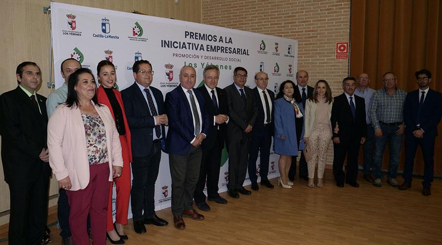 Reconocimiento a las empresas en la 1ª Edición de los Premios a la Iniciativa Empresarial