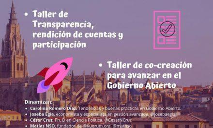 El Ayuntamiento organiza una jornada de reflexión y análisis sobre participación ciudadana bajo el nombre 'Toledo abierto'