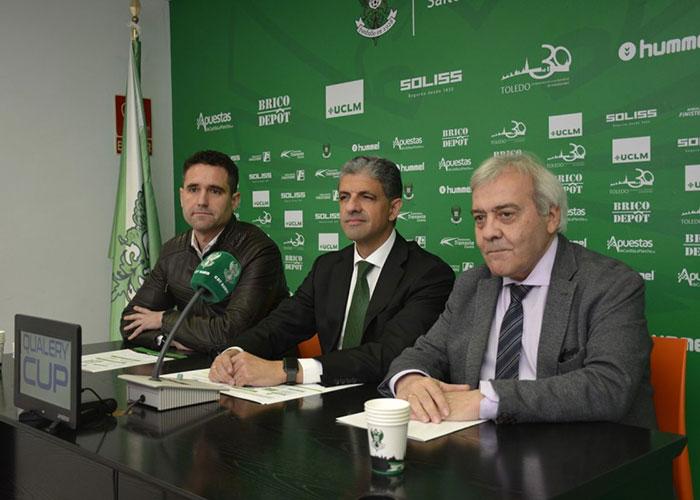 El Ayuntamiento respalda la 'Qualery Cup', primer torneo de promoción del CD Toledo que se disputará en el 'Salto del Caballo'