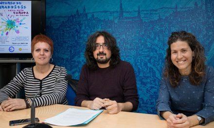El Consistorio promueve un concurso de graffitis en el colegio 'Europa' para inculcar a los escolares valores solidarios