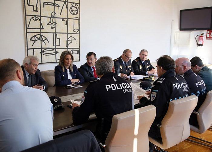 La Junta Local de Seguridad establece los dispositivos con motivo de la Semana Santa, una fiesta de Interés Turístico Internacional