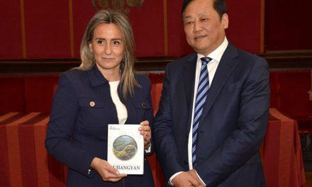 Toledo estrecha lazos de colaboración en materia comercial, cultural y turística con la ciudad china de Dujiangyan