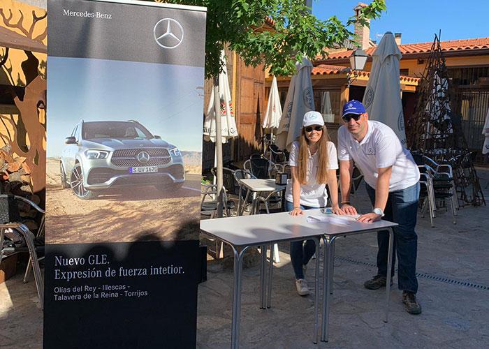Autokrator y Autasa, los concesionarios oficiales Mercedes-Benz de la provincia de Toledo presentan el Nuevo GLE en un Circuito Off Road