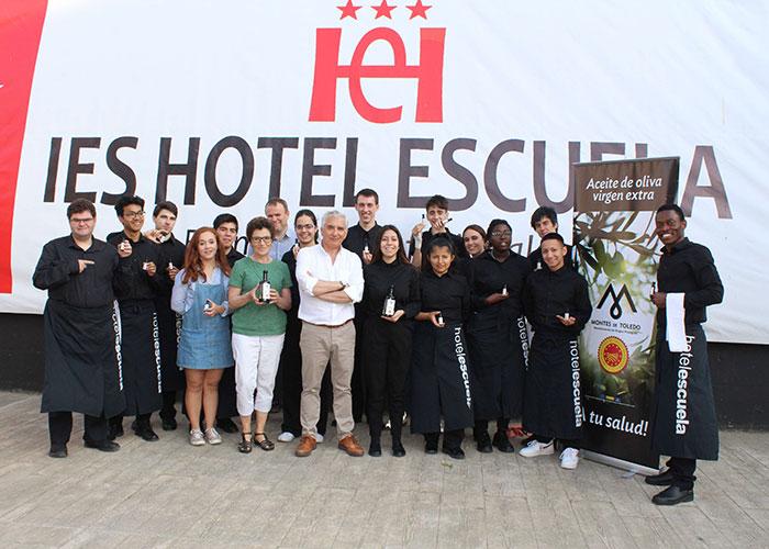 La DOP Montes de Toledo enseña a los alumnos del IES Hotel Escuela de Madrid a sacar el máximo provecho del AOVE en cocina