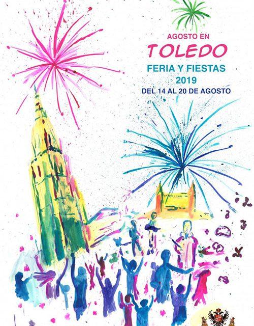 'Aires de Fiestas', de Ellen Lange, será el cartel anunciador de la Feria y Fiestas de Agosto 2019 de Toledo