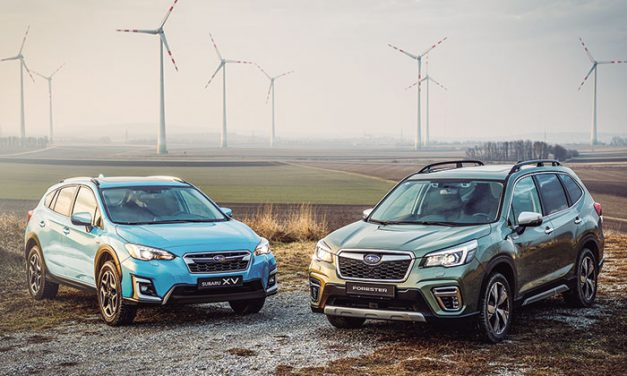 Subaru presenta su gama híbrida
