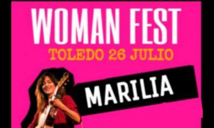 La plaza del Ayuntamiento acoge este viernes el primer Woman Fest, con Marilia, Amparo Llanos, Carmen Boza y Leila Latrónica