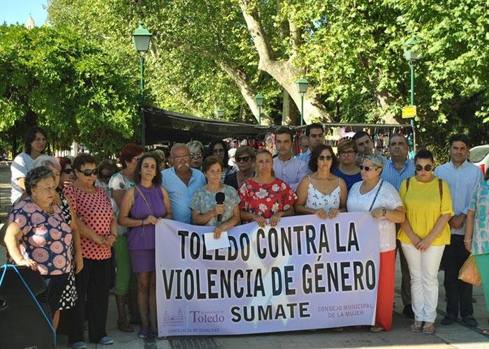 """El Consejo Local de la Mujer reclama a la sociedad toledana que trabaje """"activamente"""" en contra de la violencia machista"""