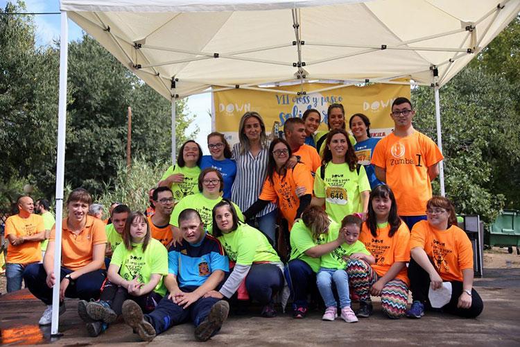 Más de 1.300 personas se suman a la Carrera y Cross Solidarios de Down Toledo que un año más contó con el respaldo municipal