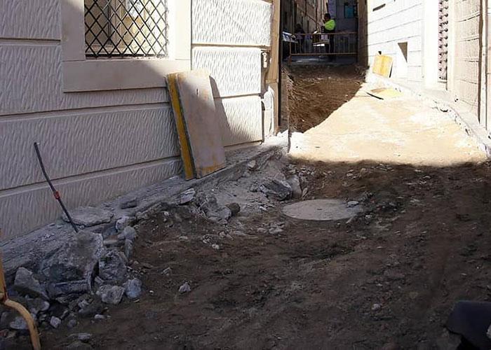 Del 4 al 13 de noviembre, la calle Alfonso X estará cortada al tránsito de vehículos y peatones por obras de canalización