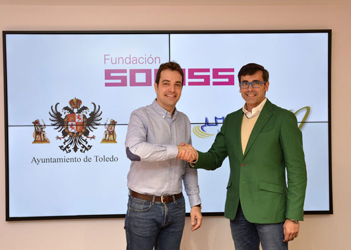 Ayuntamiento y Fundación Soliss firman un convenio de apoyo al deporte base que beneficiará a 500 jugadores del Patronato