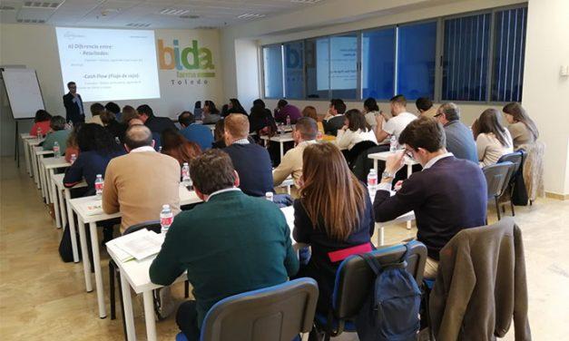 Bidafarma celebra, en Toledo, un taller de gestión financiera en la Oficina de Farmacia