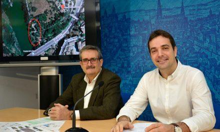 El Ayuntamiento de Toledo instala un nuevo circuito de ejercicio físico en la senda ecológica del Tajo para acercar el río a la ciudadanía