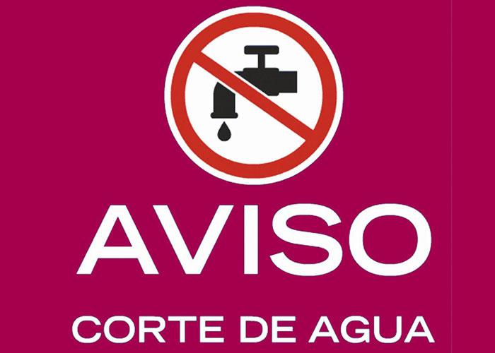 Corte de suministro de agua en el Casco Histórico el 4 de marzo, miércoles
