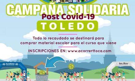 """El Ayuntamiento colabora en la iniciativa solidaria 'A Correr T Toca' impulsada por """"la familia del atletismo toledano"""""""