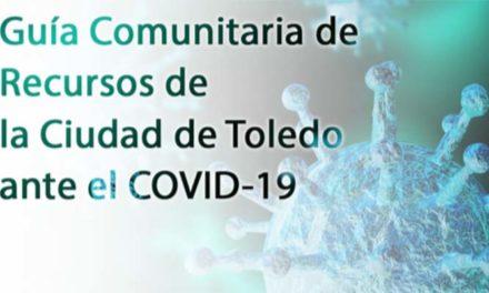 El Ayuntamiento presenta la primera guía comunitaria de recursos de la ciudad de Toledo para hacer frente al Covid-19