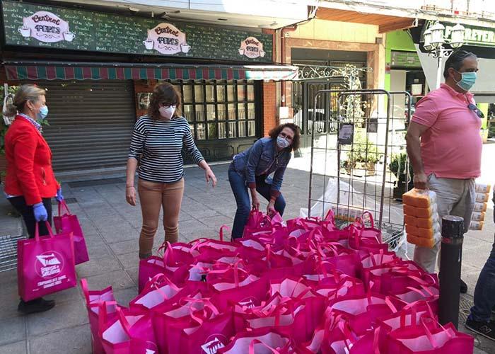 El Ayuntamiento de Toledo destinará a familias necesitadas 1.500 kilos de ayuda donados por la Asociación de Comercio de Santa Teresa