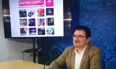 Toledo impulsa el sector cultural con el programa 'Cultura Abierta' y valora 150 propuestas más para los próximos meses