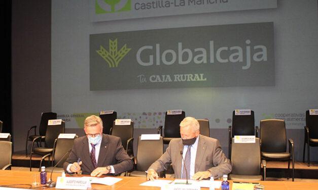 Cooperativas Agro-alimentarias Castilla-La Mancha renueva el convenio con Globalcaja