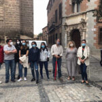 Los paseos musicales por los árboles del Casco del Festival de Jazz reúnen a alumnos de enseñanzas musicales