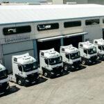 Truckstore Madrid y Eje Occidental de Camiones entregan 20 unidades a la empresa Logística Carosan SL de Talavera de la Reina